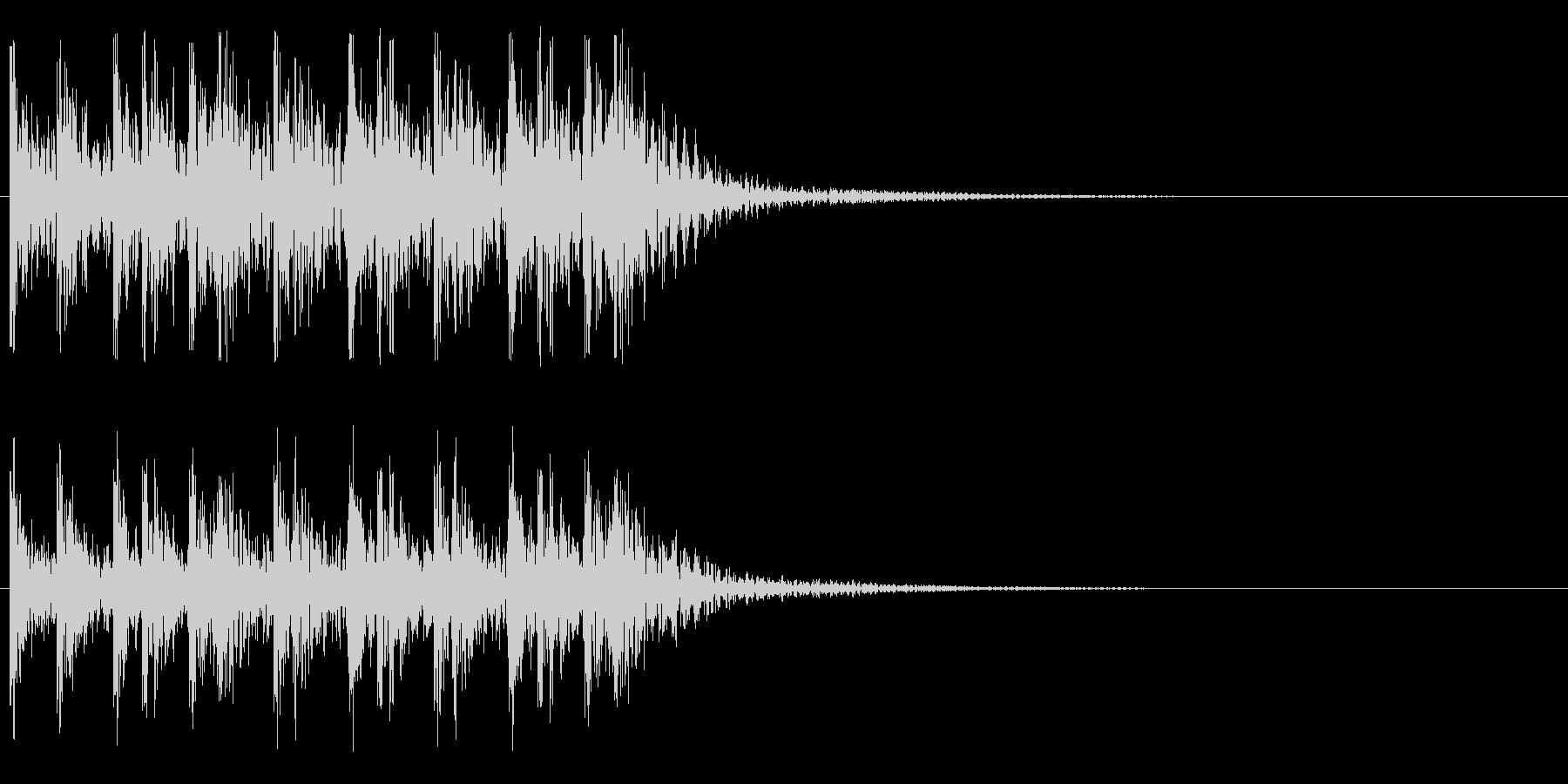 トコトコトコトコ・・・(ティンパニ)の未再生の波形