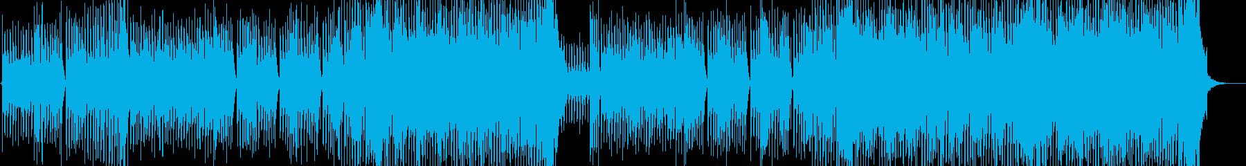ウェイ系EDMバカ騒ぎパーティー洋楽の再生済みの波形