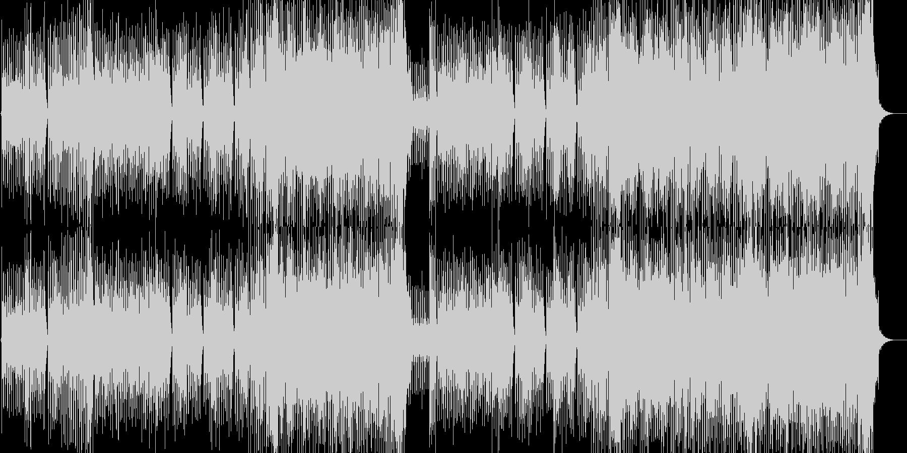 ウェイ系EDMバカ騒ぎパーティー洋楽の未再生の波形