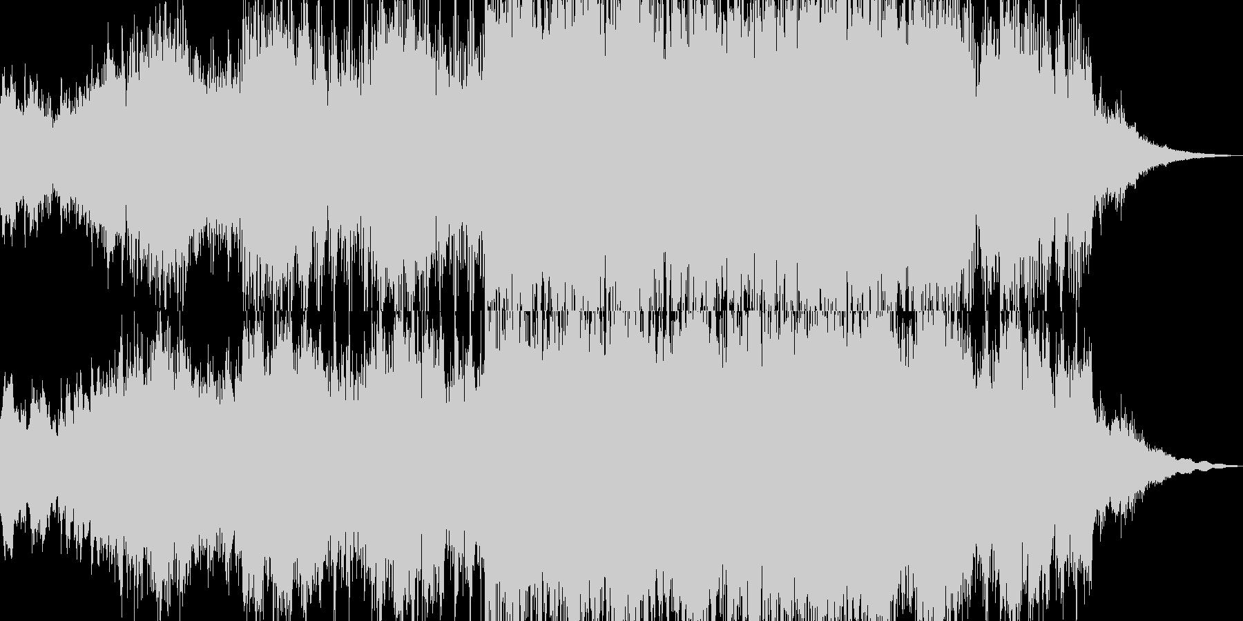 壮大で神秘的なファンタジーサウンドの未再生の波形