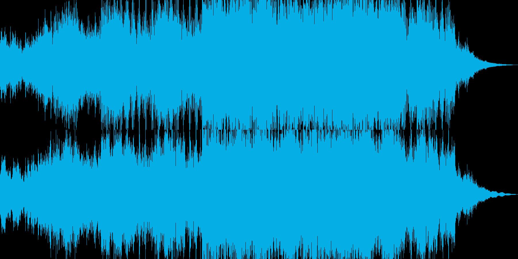 壮大で神秘的なファンタジーサウンドの再生済みの波形
