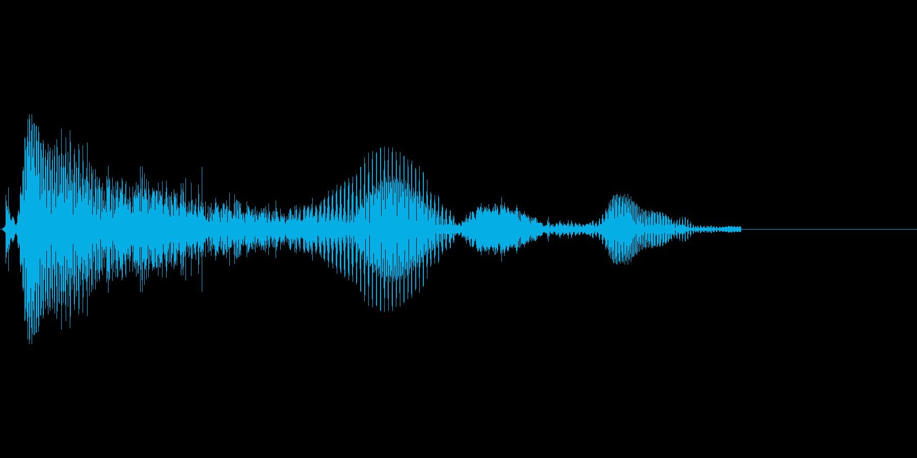 「うふふ♪」の再生済みの波形