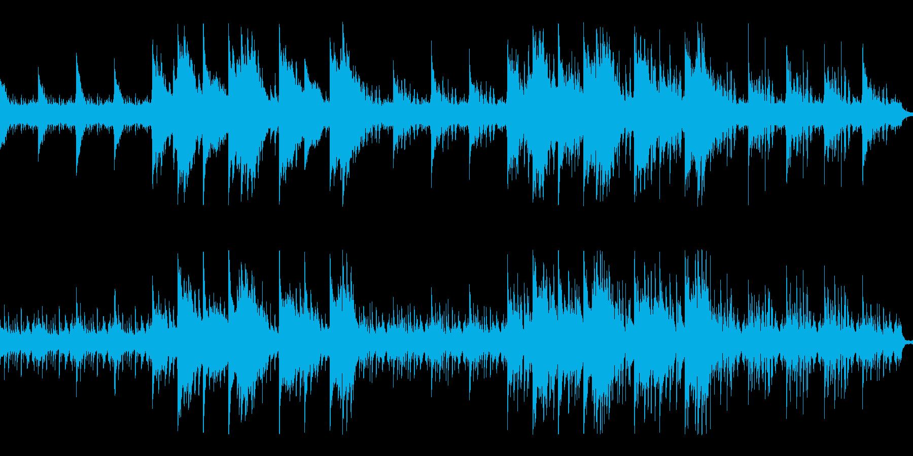 恐怖と孤独の哀愁サスペンスホラー ループの再生済みの波形