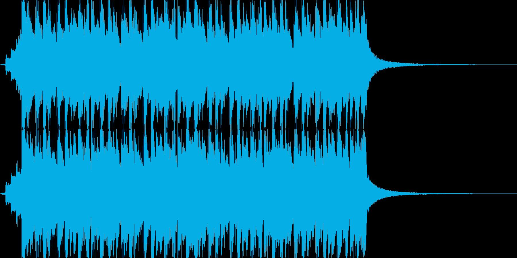 CMや映像、ハッピーなウクレレ、口笛の再生済みの波形