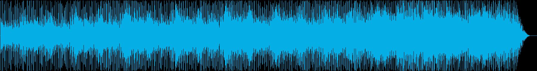 疾走感のあるアコースティックギターロックの再生済みの波形
