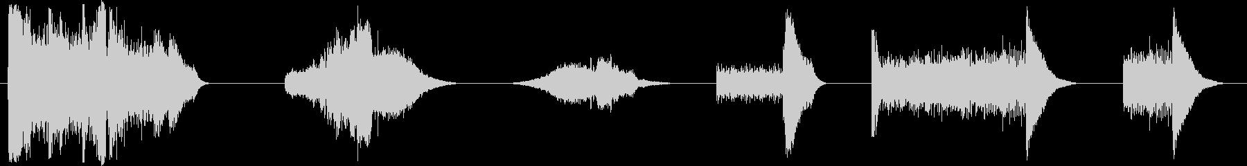 SNARE DRUM、2バージョン...の未再生の波形
