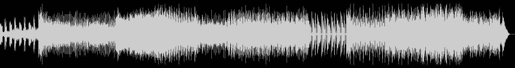 ダークなインダストリアルテクノの未再生の波形