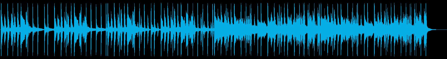 土臭い/ファンク_No497_2の再生済みの波形