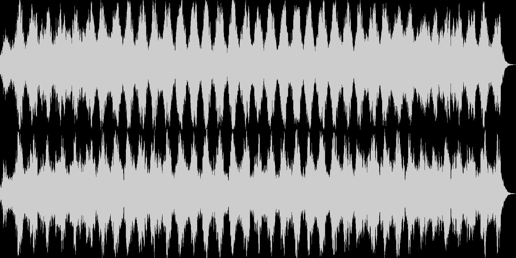 映画のサントラ、動画BGMに最適の未再生の波形