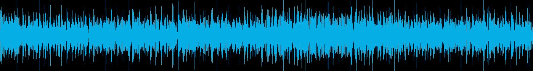 ゲームOP向きエレクトロ系(シンバル無)の再生済みの波形