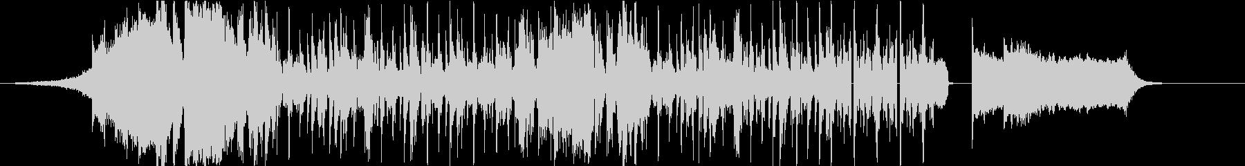 HipHop8小節(DJプレイ風)の未再生の波形