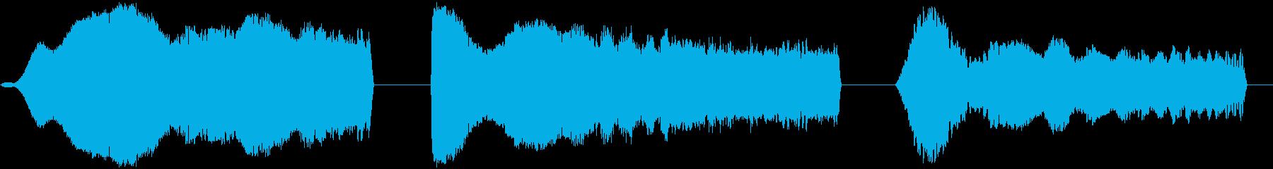 スペーススイープ、3バージョン、ラ...の再生済みの波形