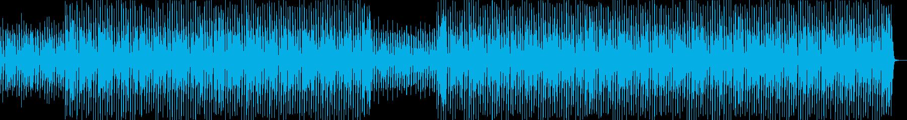 お正月・ウキウキ・三味線・和風ポップの再生済みの波形