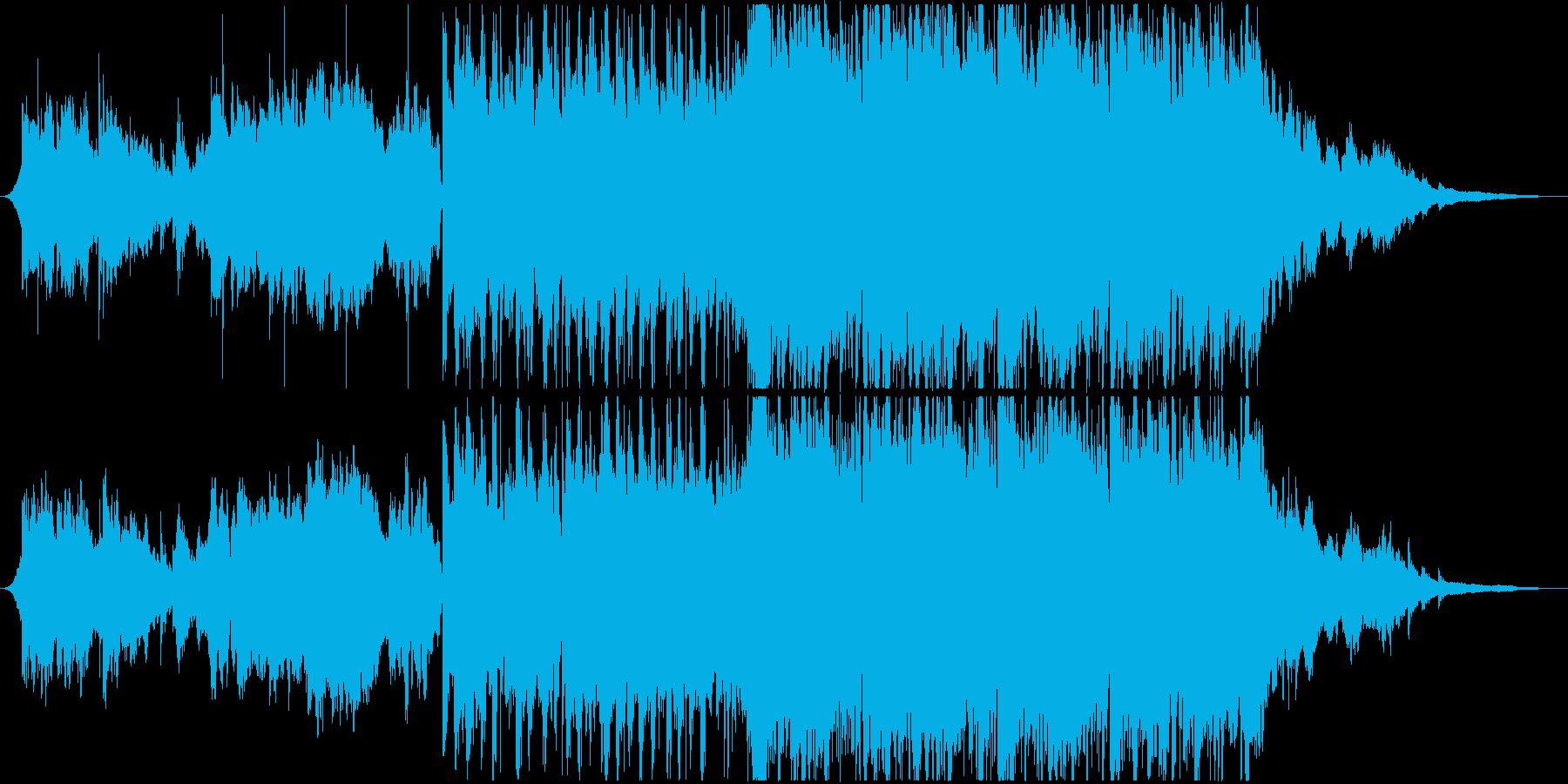 サックスが艶やかなバラード曲の再生済みの波形