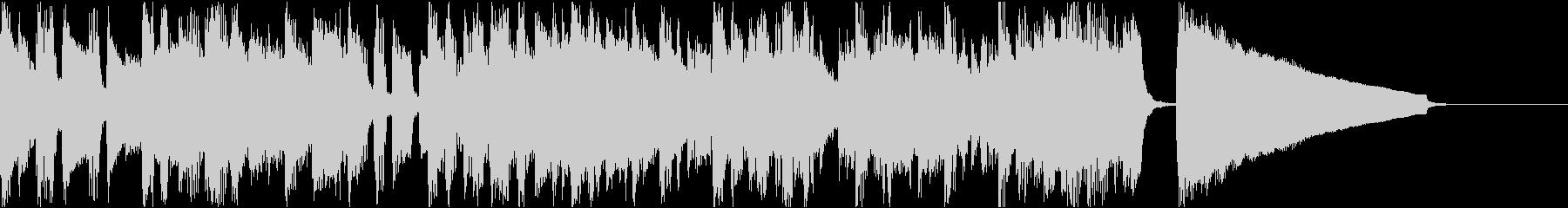 ベースのフレーズがよく動く曲の未再生の波形