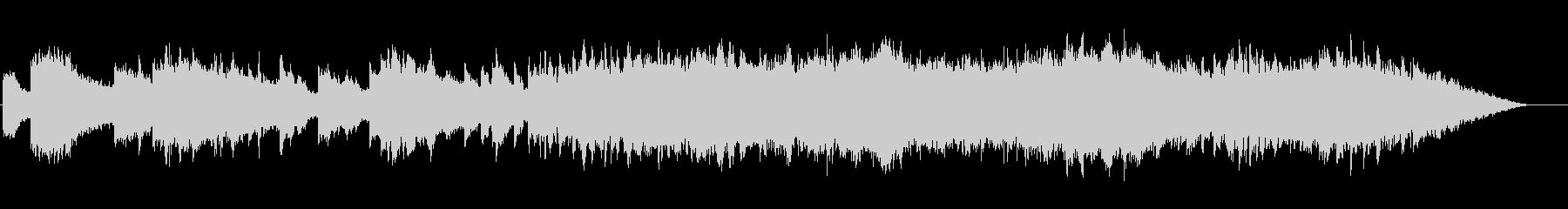 リバーブが効いたピアノのインストの未再生の波形