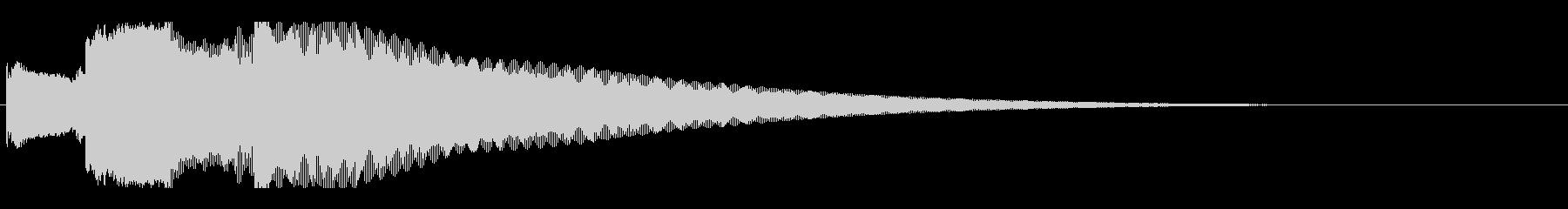 アナウンス後 チャイム-4_rev-2の未再生の波形