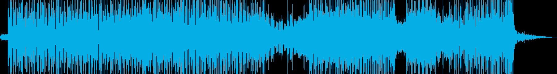 秘密結社・暗躍シーン・お洒落ビート B3の再生済みの波形
