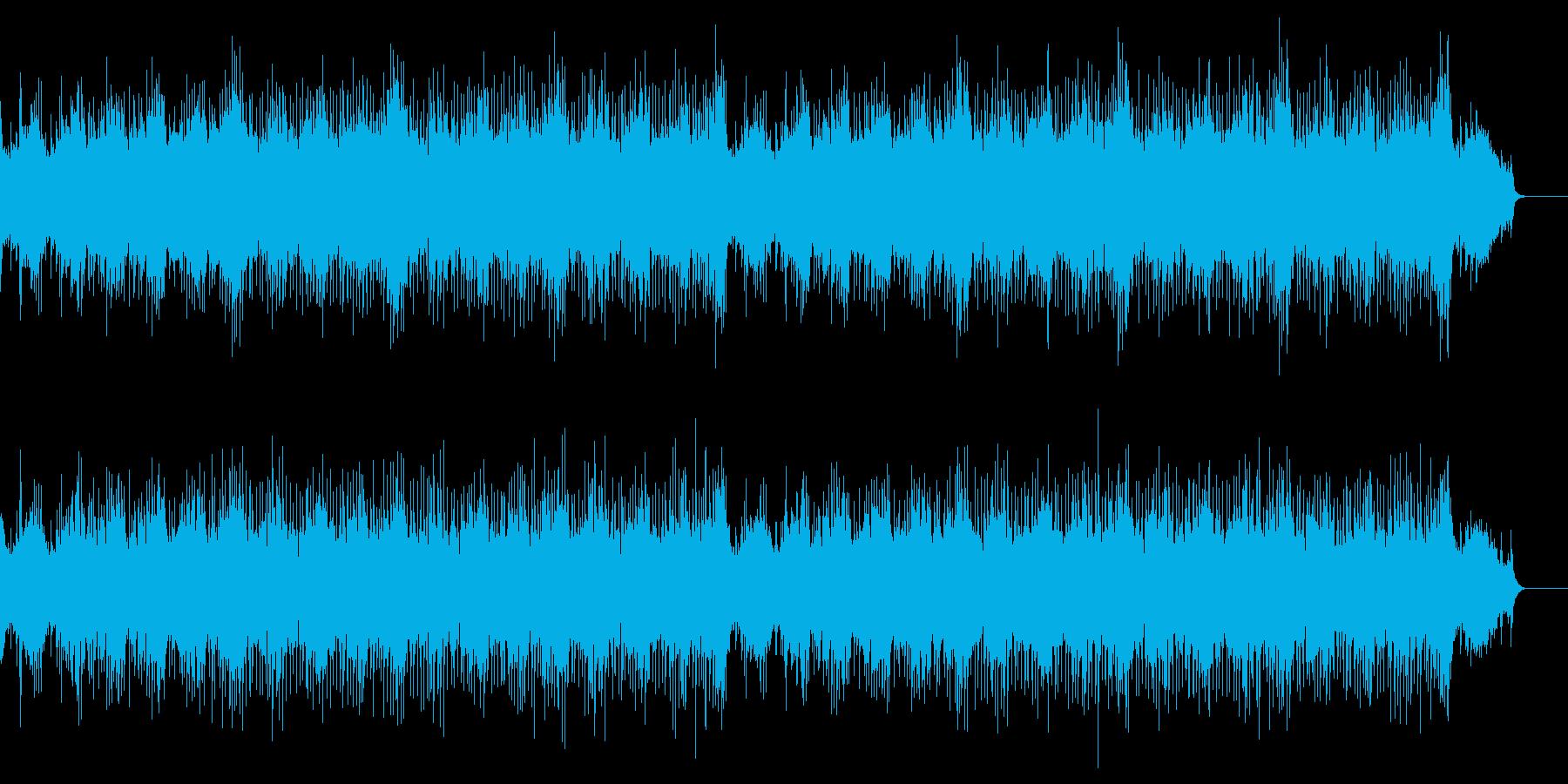 透明感のある爽やかな弦楽合奏ポップスの再生済みの波形