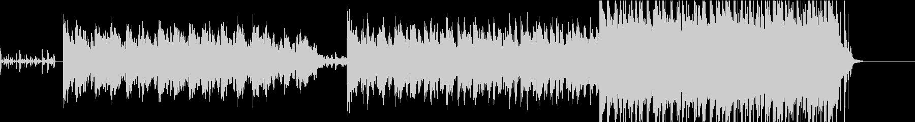 最近聞かれる トロピカルハウス系BGMの未再生の波形