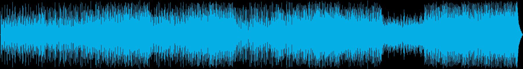 オリジナルのメロディーを備えた、軽...の再生済みの波形