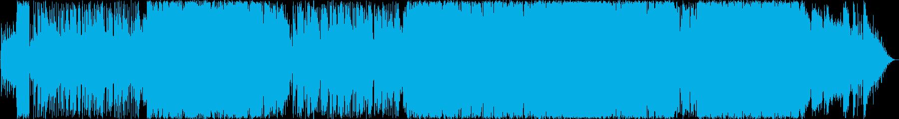切ない壮大なバラードの再生済みの波形