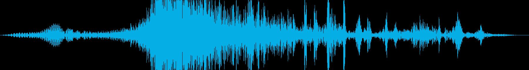 【ゲーム】 水 01 水中の再生済みの波形