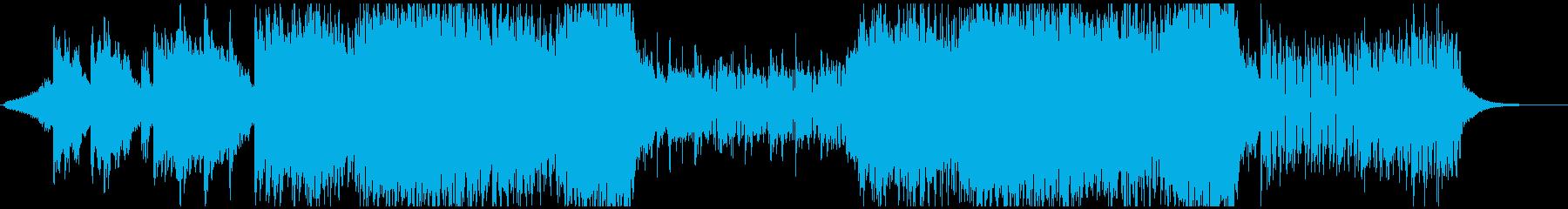 華麗なクワイアが印象的なEDMの再生済みの波形