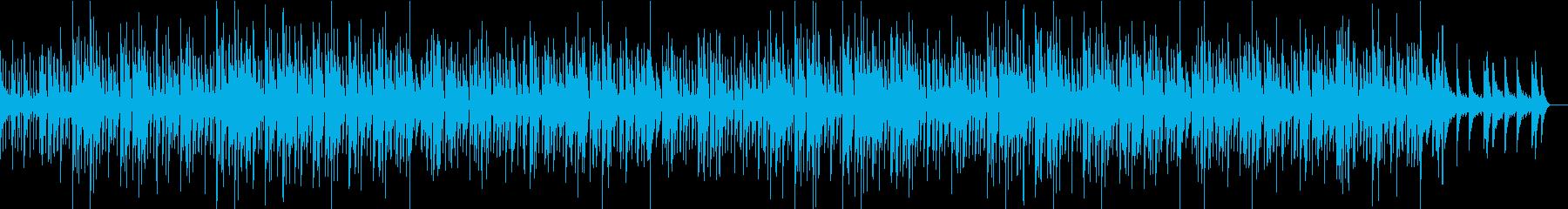 軽やかでスムーズなジャズの再生済みの波形