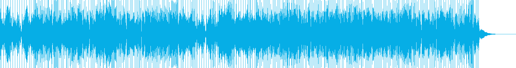 シンセパッドが気持ちいいカッコイイBGMの再生済みの波形