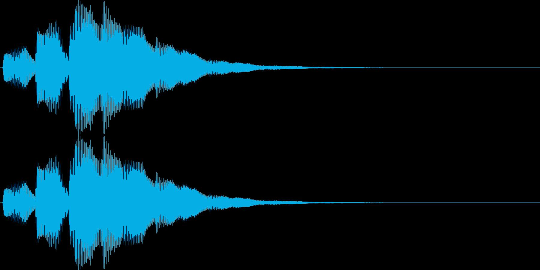 ピロリロリン(スタート、レベルアップ)の再生済みの波形