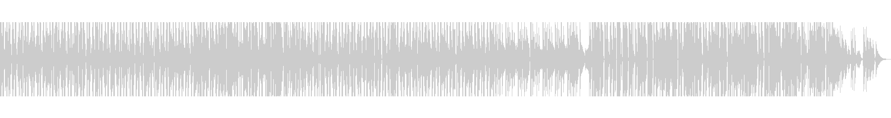 【シンセ無し】スペーシーファンクの未再生の波形