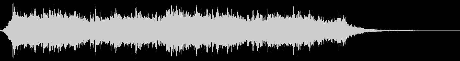 アジアやシルクロードの映像にあう曲30秒の未再生の波形