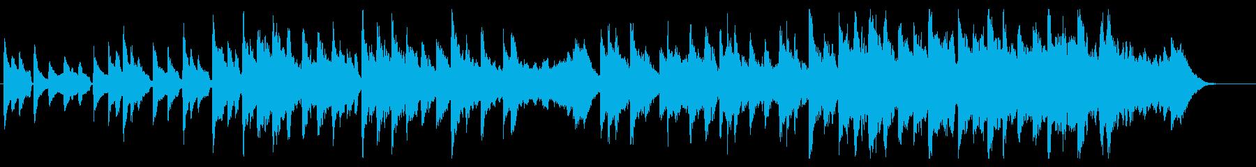 ほのぼの日常風景 春のポカポカ感ピアノの再生済みの波形