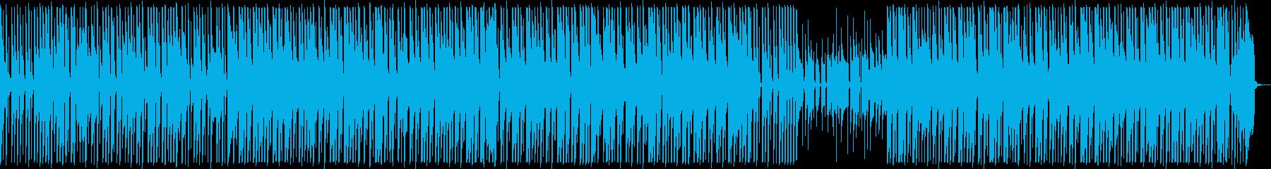ほのぼの軽快テクノポップ♪かわいい楽しいの再生済みの波形