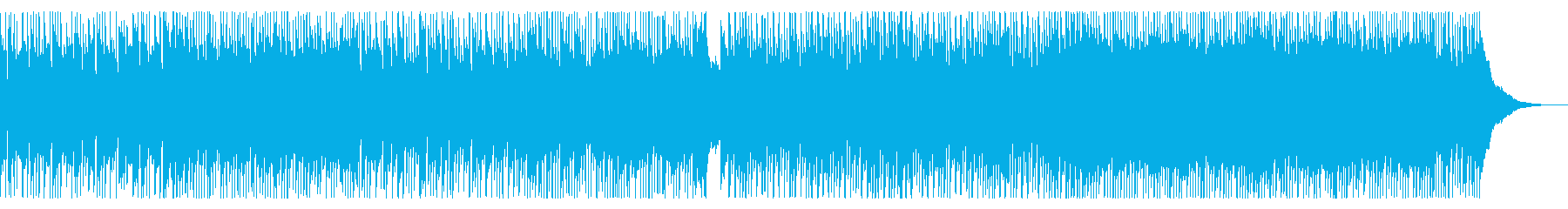 キラキラ爽やかアコースティックギター曲の再生済みの波形