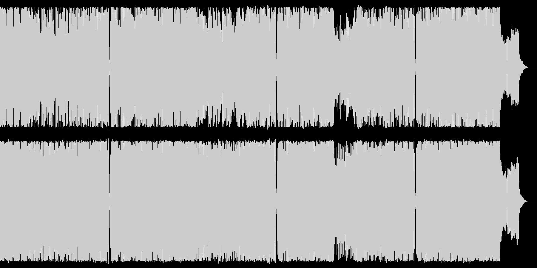 女性Vo中華風ピコピコサウンドの未再生の波形