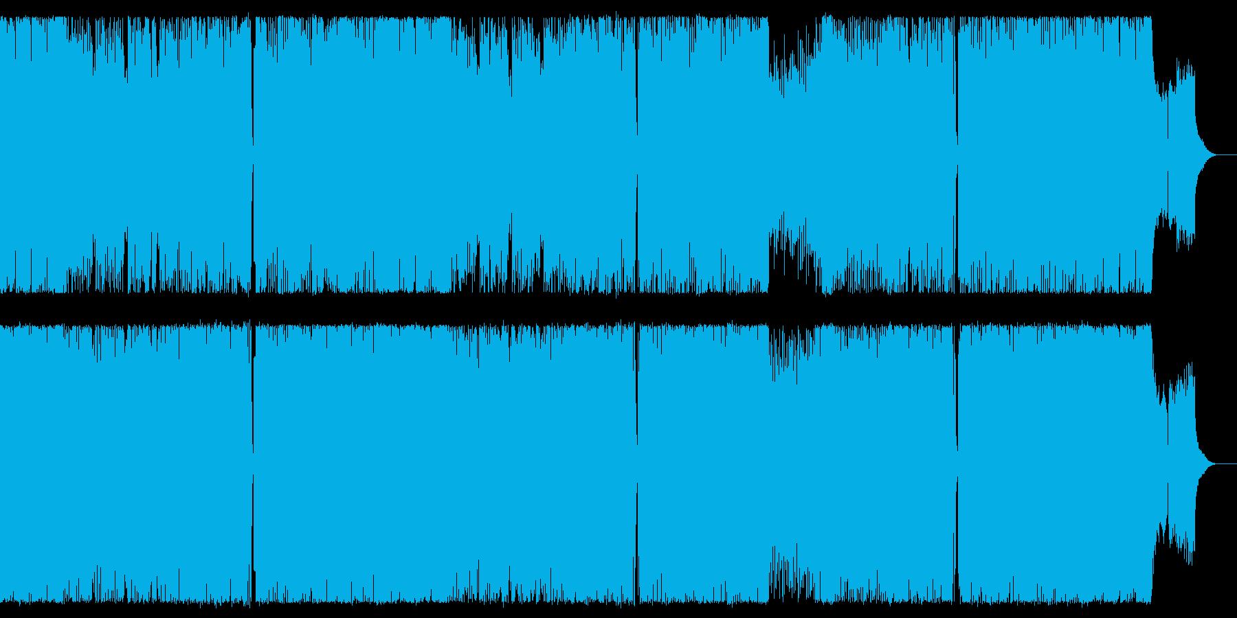 女性Vo中華風ピコピコサウンドの再生済みの波形