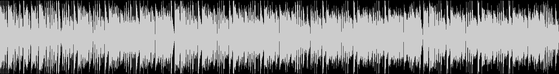 かわいいコミカル/ループ/イントロ8秒の未再生の波形