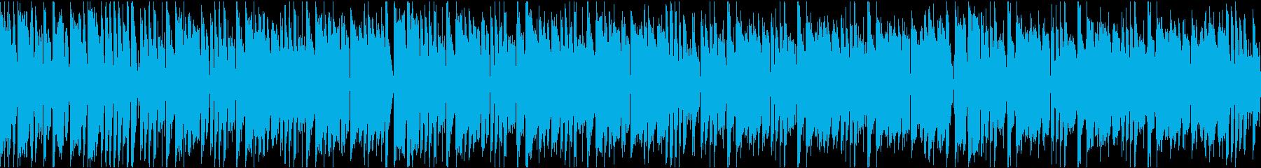 かわいいコミカル/ループ/イントロ8秒の再生済みの波形