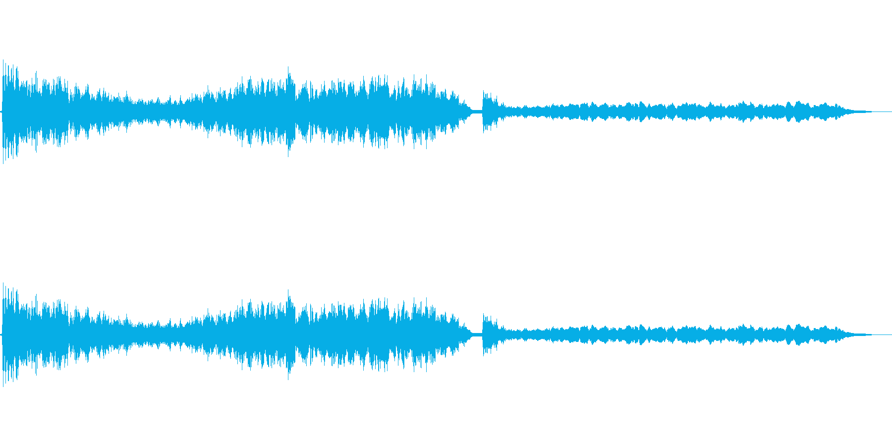 ドリームアトモスフィア-ナイトメア...の再生済みの波形