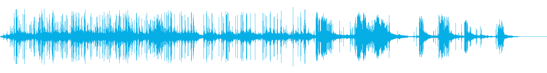 花火-ロケット7の再生済みの波形