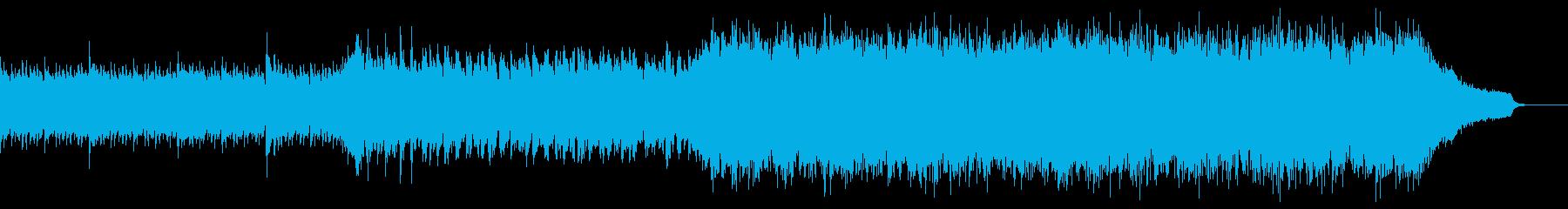 企業VP映像、106オーケストラ、爽快bの再生済みの波形