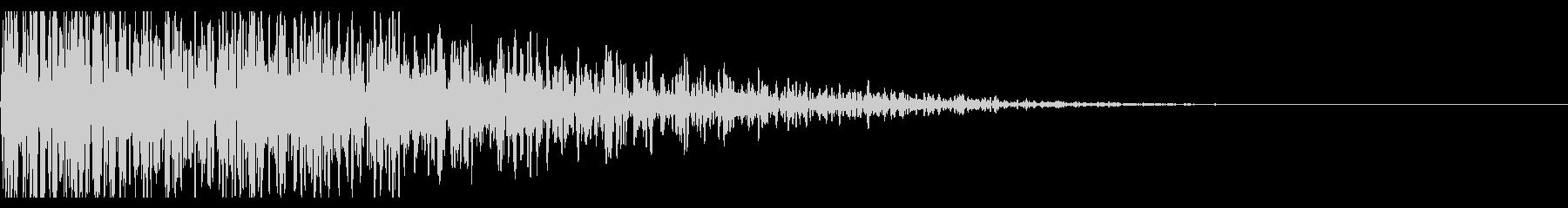 遠めの爆発音(ドカーン、衝撃、爆弾)_1の未再生の波形