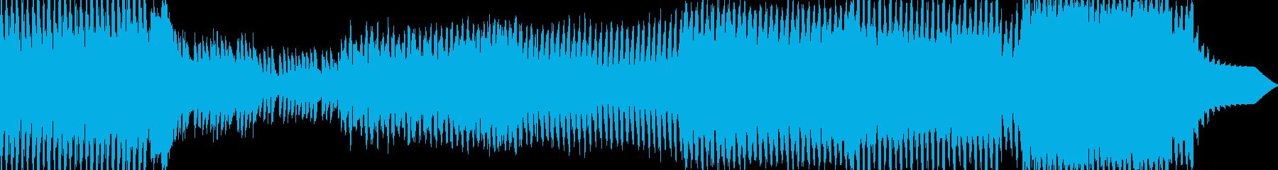 【トランス】切ない、力強いナンバーの再生済みの波形