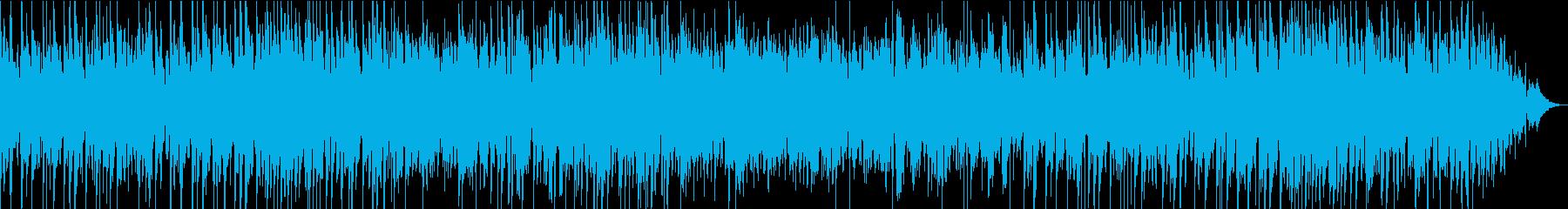 オリエンタルな雰囲気のジャズワルツの再生済みの波形