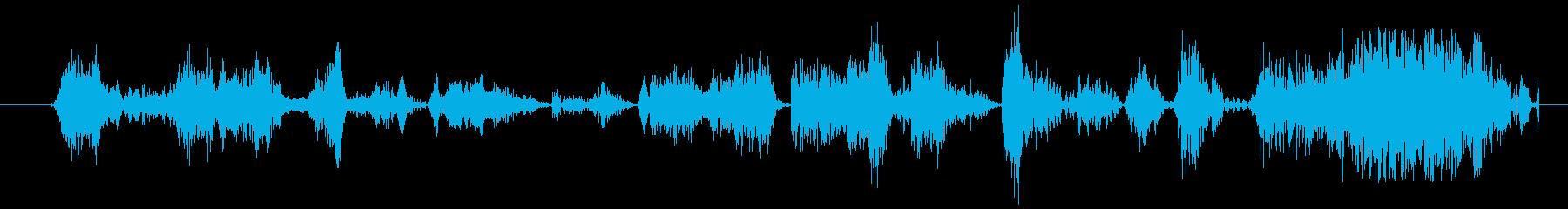モンスター グリッチトーク08の再生済みの波形