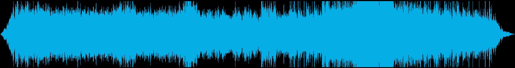 シーケンス 地下鉄道01の再生済みの波形