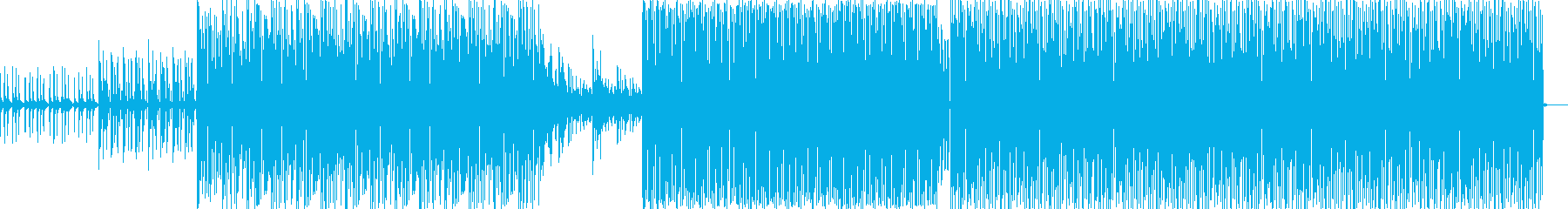 クール、壮大、オーケストラ風テクノの再生済みの波形