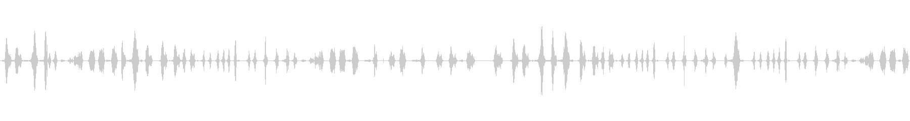 喋ってる声を巻き戻しした音の未再生の波形